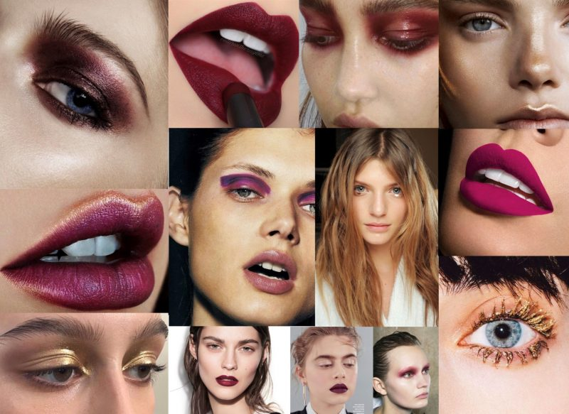Efterårets hotteste makeupfarver